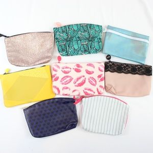 Lot of 8 Unused Ipsy Makeup Bags